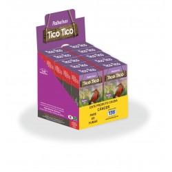 DISPLAY BALCÃO P/ 10 MAÇOS - BOX - PLÁST.- 1000 UND - 4X0 - 9,2X9,8X8,9cm
